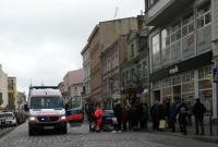 Potrącenie na przejściu dla pieszych w centrum Gniezna