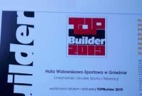 Gnieźnieńska hala z nagrodą Top Builder 2019