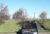 Na Trasie Zjazdu Gnieźnieńskiego samochód ściął latarnię