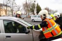Wypadek na skrzyżowaniu
