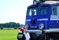 Śmiertelny wypadek na przejeździe kolejowym w Fałkowie