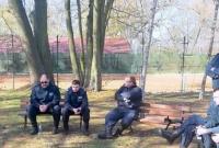 Inspektorzy na kursach samoobrony
