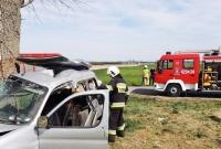 Tragiczny wypadek w gminie Kłecko! Jedna osoba nie żyje, dwie w stanie ciężkim w szpitalu!