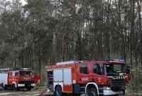 Pożar lasu w Imielenku! Strażaków wspierali mieszkańcy