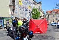 Tragiczny wypadek na ul. Kościuszki w Gnieźnie! Samochód potrącił kobietę