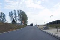 Przebudowa układu drogowego na ul. Pod Trzema Mostami - postęp prac na zdjęciach