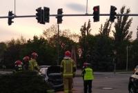 Wypadek na skrzyżowaniu w Gnieźnie