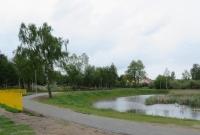 Rewitalizacja oczka wodnego przy ulicy Czeremchowej w Gnieźnie zakończona