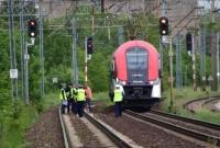 Pociąg potrącił mężczyznę!