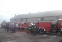 W Łopiennie płonął budynek gospodarczy