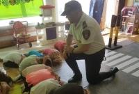 Strażnik w przedszkolu