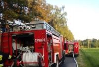 Pożar lasu w Kamionce! Strażacy spisali się na medal!