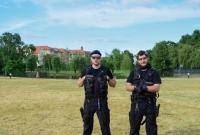 Policjanci wspólnie z mieszkańcami uczcili 100. rocznicę powstania Policji Państwowej