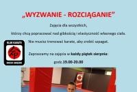 Aktywnie w sierpniu z Klubem Karate Inochi Gniezno
