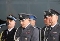 Przekazanie obowiązków Dowódcy 33. Powidzkiej Bazy Lotnictwa Transportowego