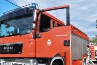 Pożar przy ul. Spichrzowej w Gnieźnie