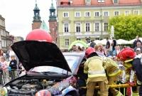 Na gnieźnieńskim Rynku popłynęła krew ratująca życie