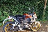 Zderzenie motocykla z osobówką