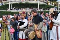 Słowianki pokazały jak tańczyło się za czasów pierwszych władców Polski
