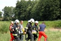 Byki zaatakowały mężczyznę! Poszkodowany został zabrany śmigłowcem do szpitala