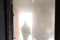 Pożar kotłowni w miejscowości Małachowo Szemborowice