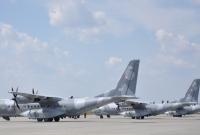 Lotnicze przygotowania do Defilady