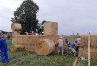 Mieszkańcy Jarząbkowa zadbali o wystrój wsi na dożynki