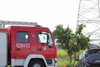 Osobówka zepchnięta z drogi przez ciężarówkę! W wypadku ucierpiały dzieci