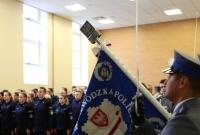Uroczystość ślubowania nowych policjantów