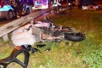 Motocyklista uderzył w Seicento! Wyrzuciło go na wysokość kilku metrów!