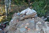 Wyrzucił dwie ciężarówki śmieci przy cmentarzu - dostał mandat i musiał posprzątać