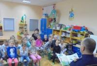 Strażnicy Miejscy odwiedzili Przedszkolaków z