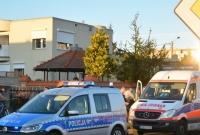 Wypadek rowerzysty na ul. Orzeszkowej w Gnieźnie