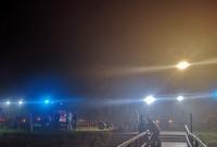 Strażacy szukali topielca w Łagiewnikach Kościelnych