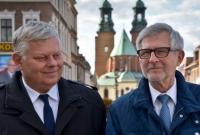 Witold Czarnecki i Marek Suski odwiedzili Gniezno. Liczą na 6 lub 7 mandatów dla PiS-u!