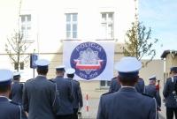 Odsłonięcie tablicy pamiątkowej kom. Józefa Wróblewskiego