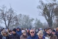 Procesja na cmentarzu św. Wawrzyńca