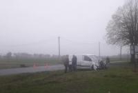 Zderzenie dwóch samochodów dostawczych na skrzyżowaniu w Przysiece! Jedna osoba w szpitalu!