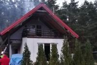 Kolejny pożar w Imielnie! Strażacy apelują do zarządzających ogrodami działkowymi