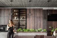Nowoczesna kuchnia w nowoczesnym mieście