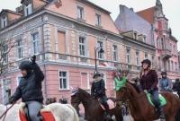 Koniarze pożegnali 2019 rok! Na Rynek wjechało 57 koni