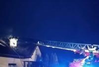Pożar domu w Wierzycach! W akcji 7 zastępów Straży Pożarnej