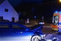 Wypadek na skrzyżowaniu w Kiszkowie