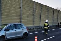 Wypadek na drodze ekspresowej S5