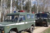 Mina przeciwpancerna w lesie k. Łabiszynka