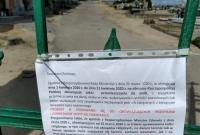 Mieszkańcy ignorują zakaz wstępu na cmentarze