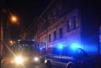 Pożar w kamienicy przy ul. Jeziornej w Gnieźnie