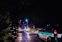 6-kilometrowa plama na drodze