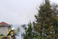 Pożar w Działyniu