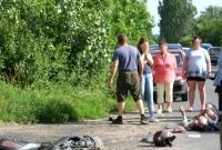 Pijany motorowerzysta zderzył się z Audi!